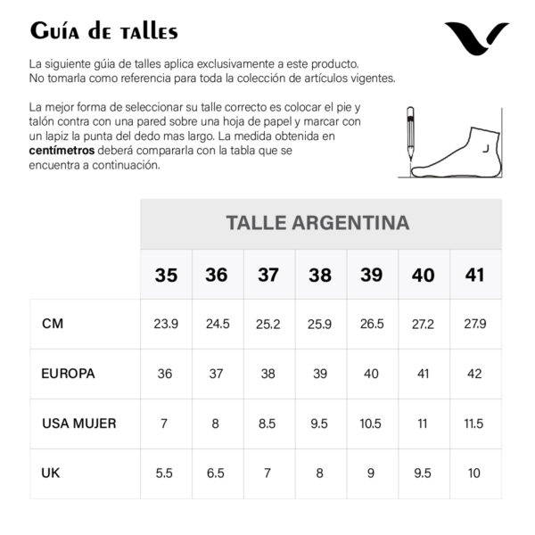 TABLA TALLES